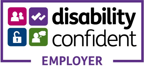We are a Disability Confident Employer