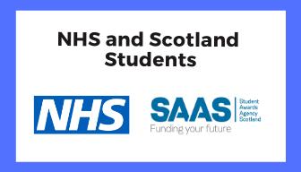 DSA NHS and SAAS Students