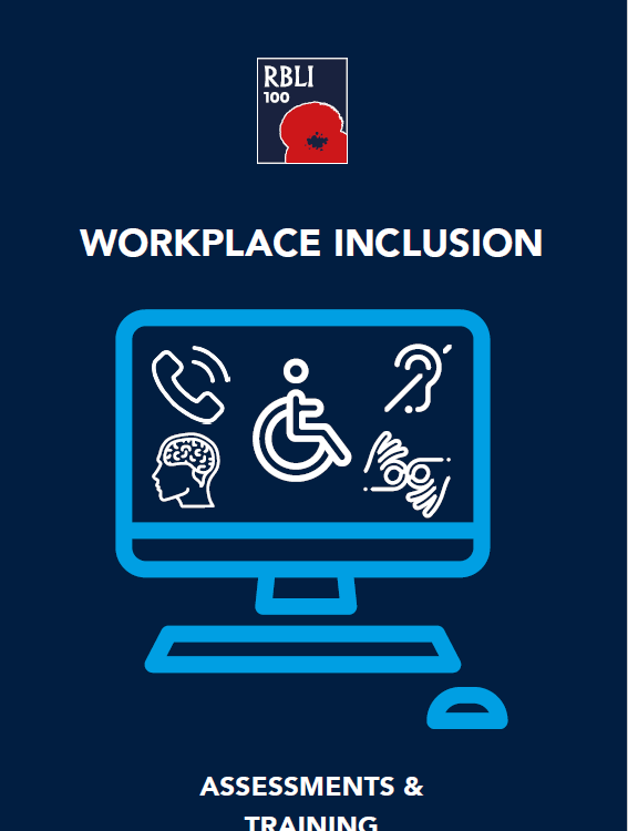 RBLI Workplace Inclusion Services Leaflet